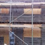 Wates PRC breeze block wall