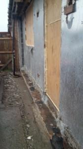 Cornish unit plasterboard lining